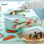 Oven Mitts Kitchen Protective Gloves Potholders for Baking Needs - inno+ home-innoplus kitchen