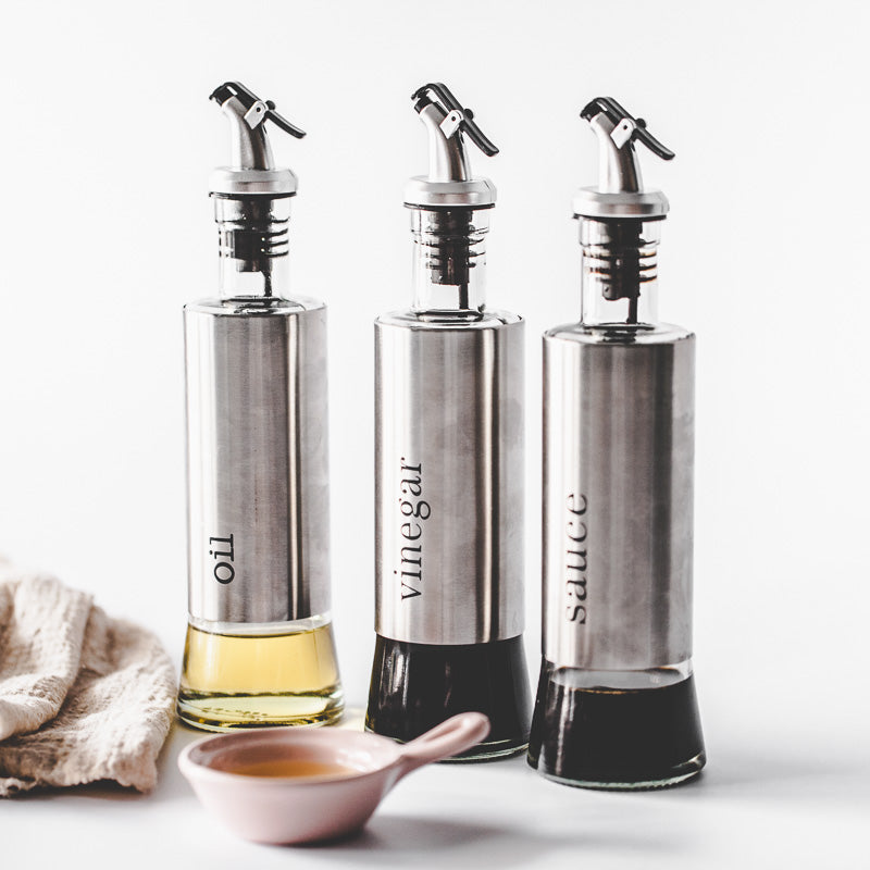 Storage Bottles Cooking Seasoning Bottle Dispenser Dust-proof Kitchen Tools - inno+ home-innoplus kitchen