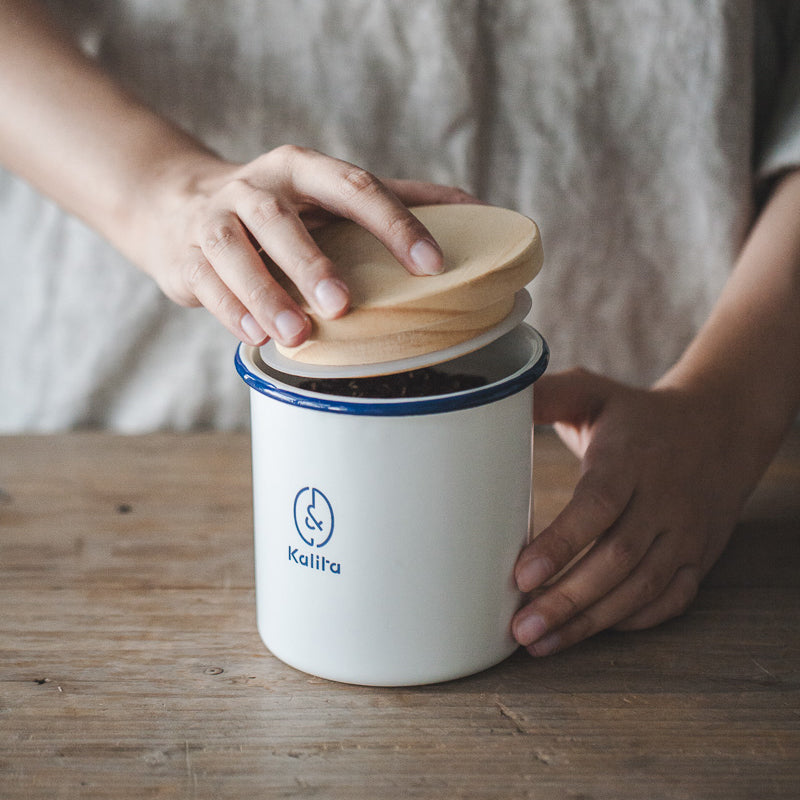 Enamel Container for Snacks and Nuts - inno+ home-innoplus kitchen