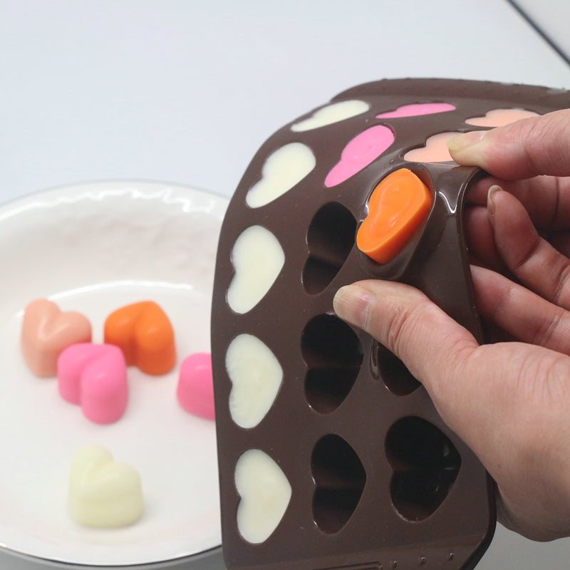 Silicone Heart Shaped Mold for Chocolate and Candies - inno+ home-innoplus kitchen