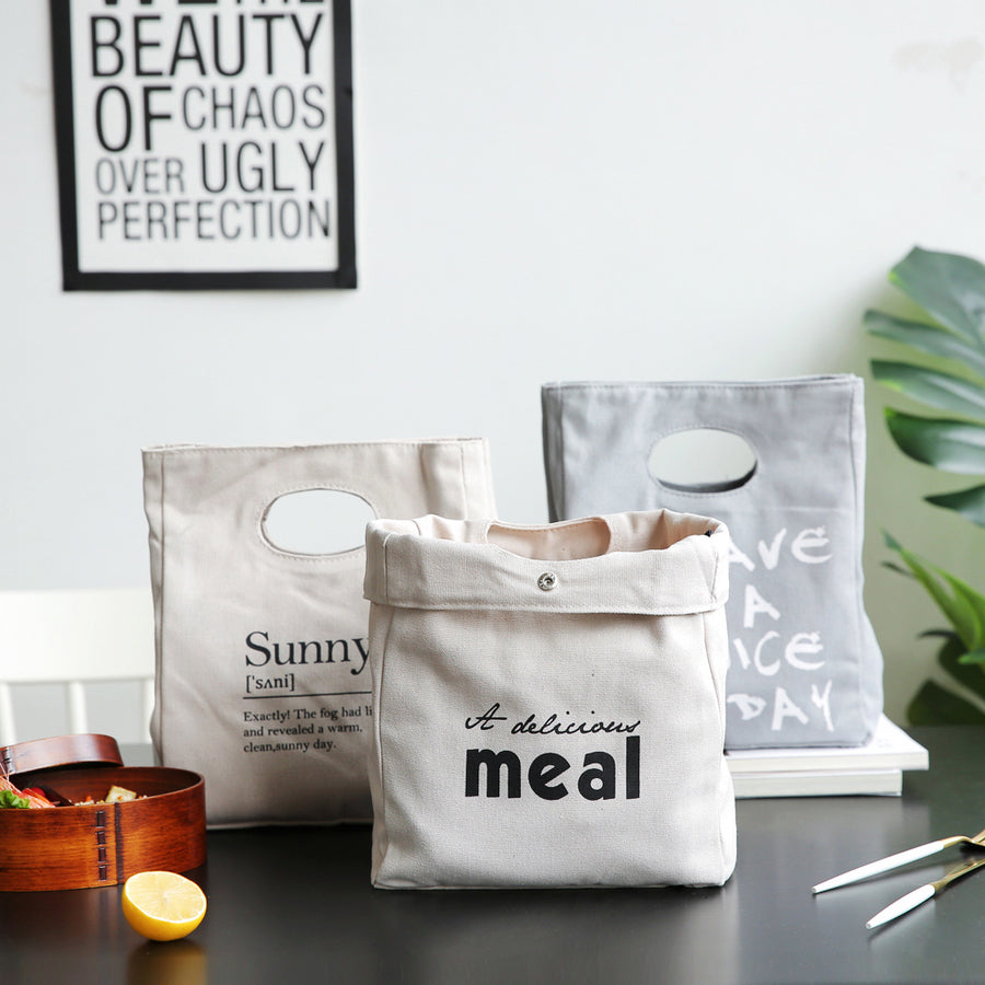 Thermal Insulated Cotton Lunch Bags - inno+ home-innoplus kitchen