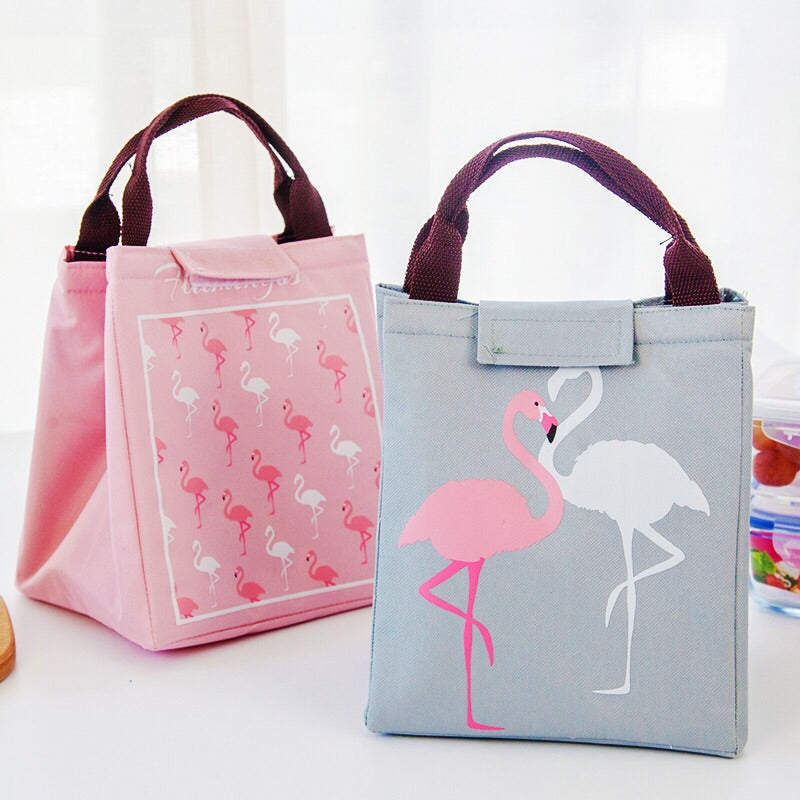 Tropical Flamingo Thermal Insulated Lunch Bags - inno+ home-innoplus kitchen