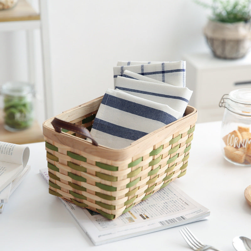 Blue and White Striped Kitchen Tea Towels(3pcs Set) - inno+ home-innoplus kitchen