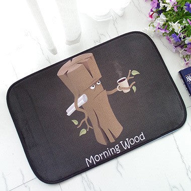 inno+ door mat, innoplus indoor mat, outdoor mat, cat mat, cartoon mat, quirky door mat,living room mat, carpet