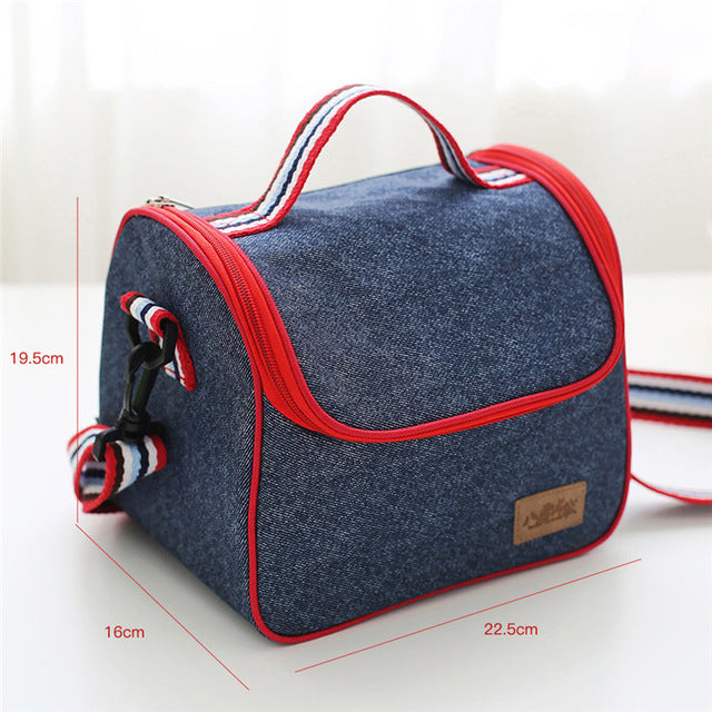 innoplus denim lunch bag,brand new,for working professionals and students