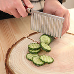 potato chips cutter, potato chips wavy cutter, wavy slicer, wavy knife