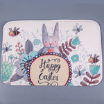 Easter bunny mat,easter bunny rabbit indoor mat,rabbit mat,innoplus, inno+