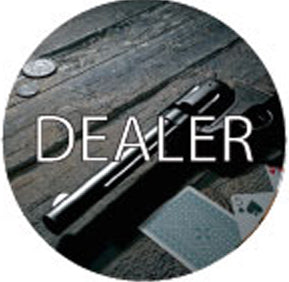 Dealer Button - Gun Slinger
