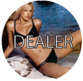 Dealer Button - Beach