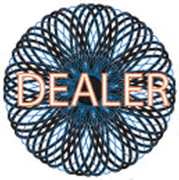 Dealer Button - Spiral
