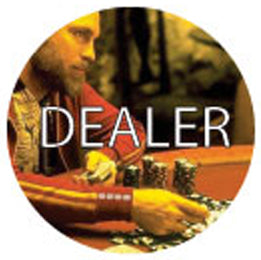 Dealer Button - KGB