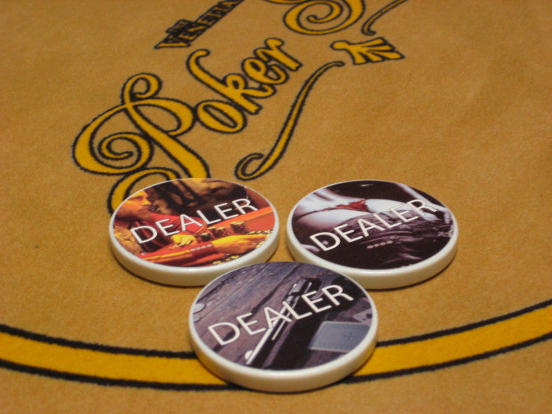 Dealer Button Pack - 3 for $15.99