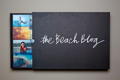 "Front cover of ""The Beach Blog"", a book by AquaTech Ambassador Eugene Tan"