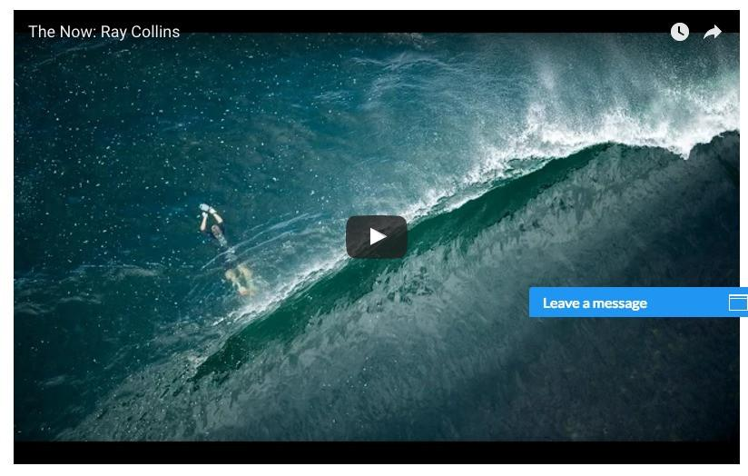 Ray Collins Profiled by Surfer Magazine