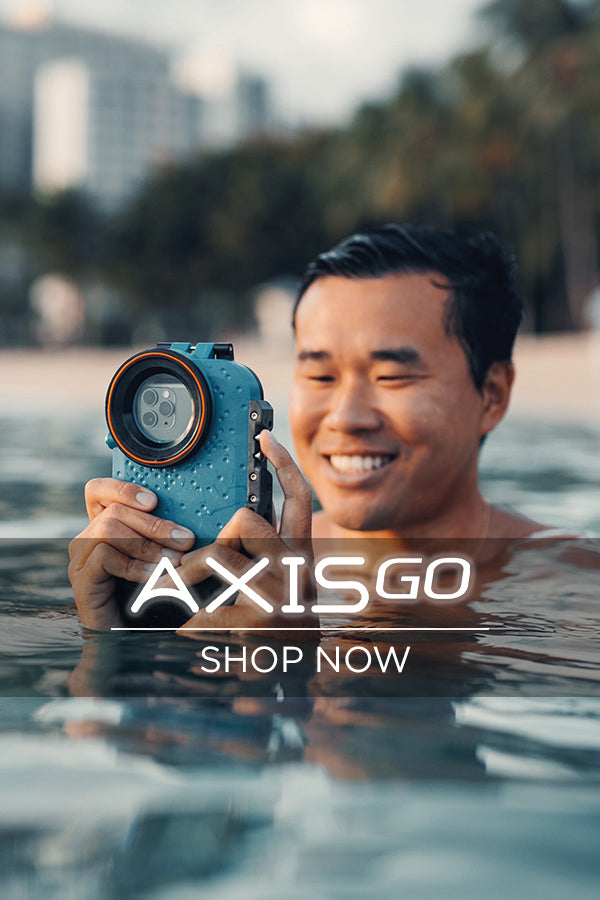 axisgo water housing for iphone