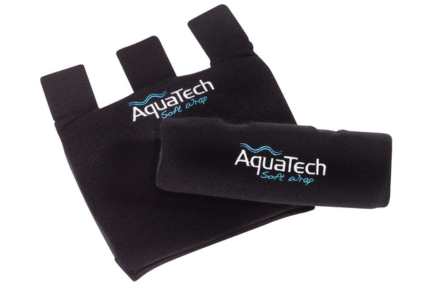 AquaTech tripod soft wrap wrapped and unwrapped view