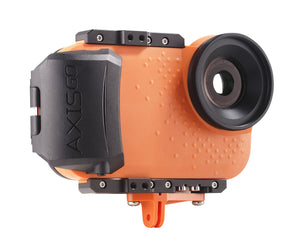 AxisGO iPhone waterproof housing with GoMount accessory