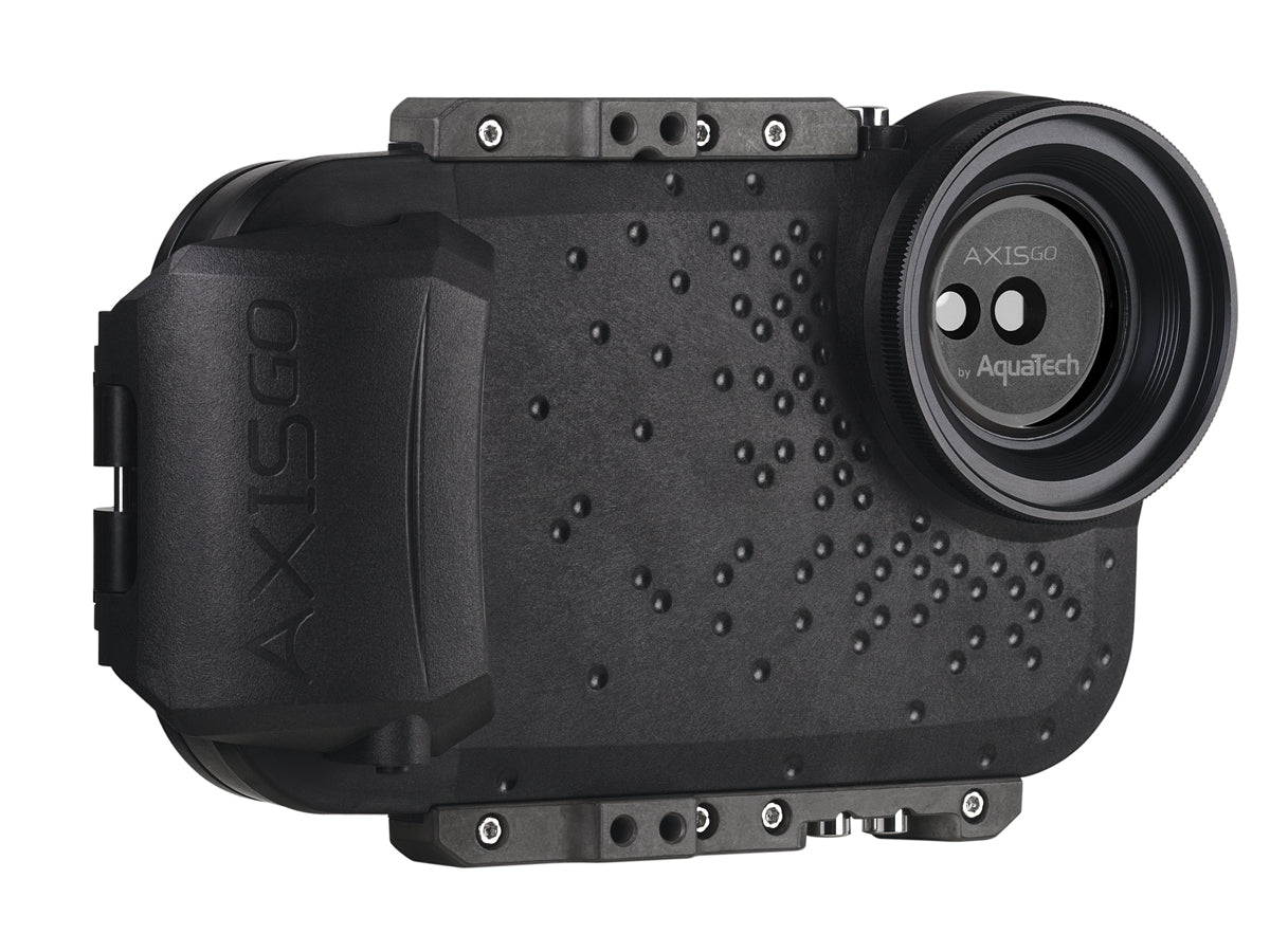 AxisGO XS MAX / XR Water Housing for iPhone  XS MAX/XR Moment Black