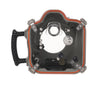 Delphin D5 Nikon waterproof Housing rear view