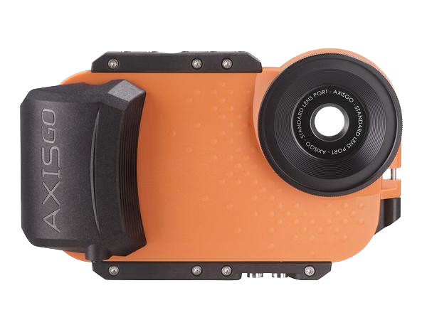 AxisGO Water Housing for iPhone 7/ iPhone 8 Sunset Orange