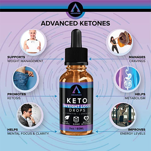 One (4oz) Keto Weight Loss Bottle