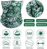 8 Pack Face Scarf / Neck Gaiter
