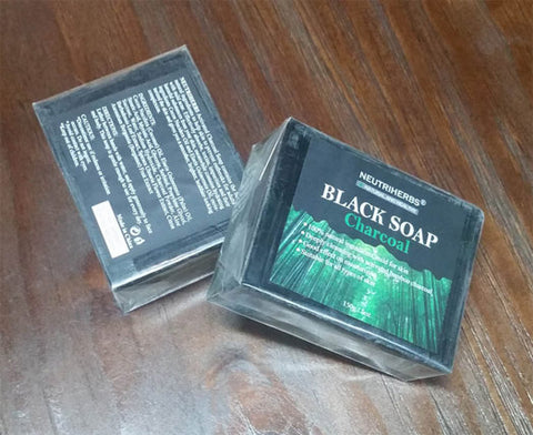 Activated Charcoal Soap – Natural & Organic Bamboo