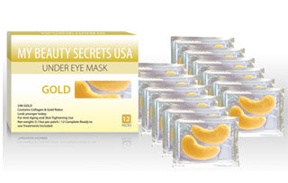 Gold Crystal Collagen Under Eye Mask