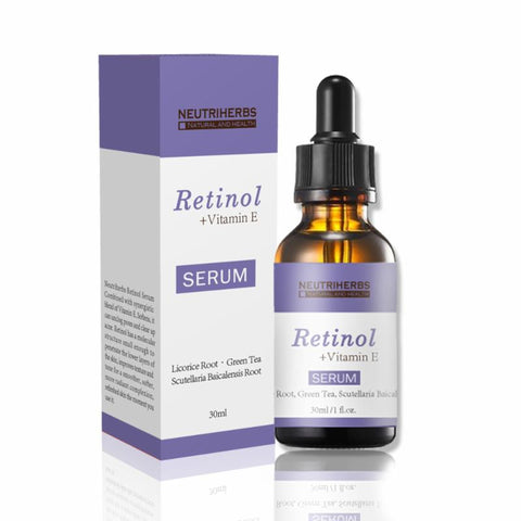 Retinol + Vitamin E Serum For Firmer, Smoother Skin