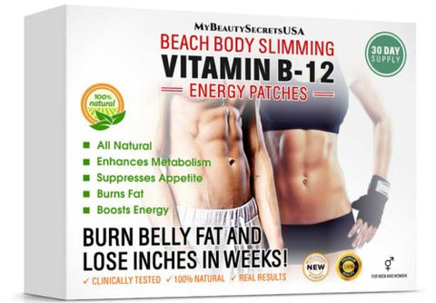 Vitamin B12 Slimming & Energy Patch