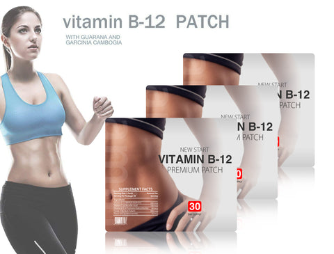 Premium Vitamin B12 and Guarana Slimming Patches