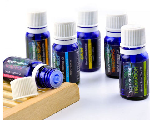 Neutriherbs Aromatherapy Top 6 Best Essential Oil Blends Set