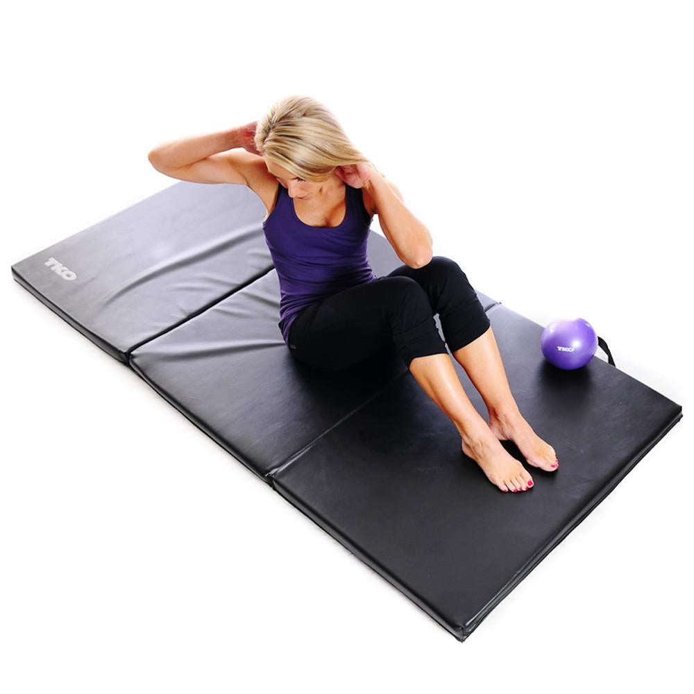 TKO 3 X 6 Home/Gym Folding Exercise Mat