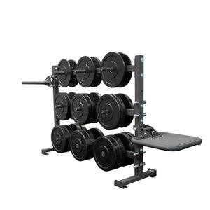 Torque 6 Foot Horizontal Weight Storage/Dip/Plyo Rack