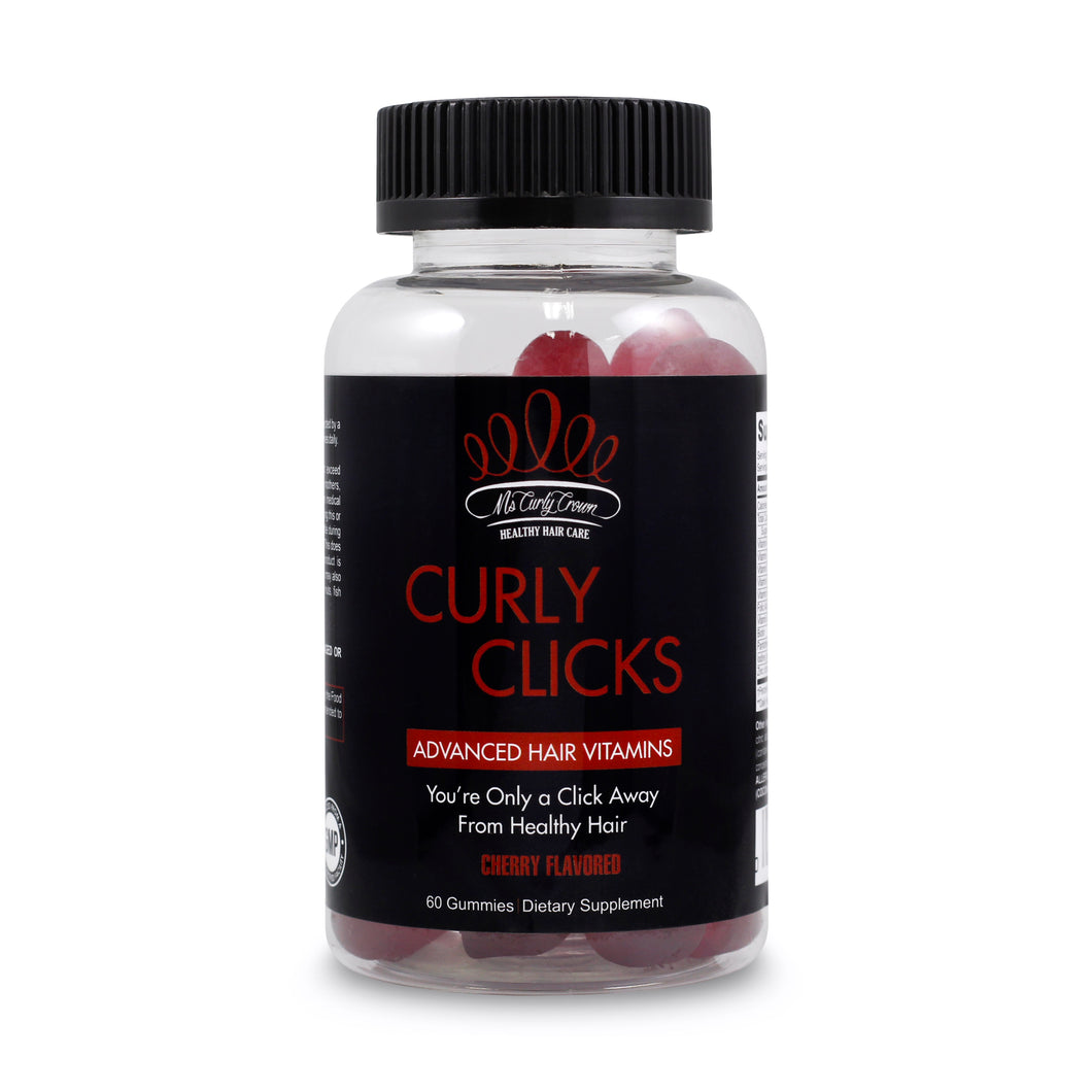 Curly Clicks - Adult Gummy Vitamins