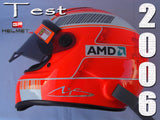 Michael Schumacher 2006 TESTS Replica Helmet / Ferrari F1