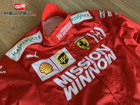 Vettel 2019 Mission Winnow Racing Suit / Ferrari F1