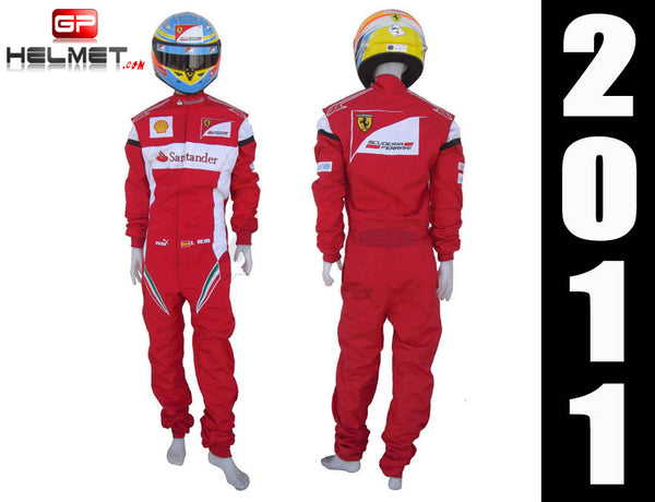 Fernando Alonso 2011 Racing Suit Replica / Ferrari F1