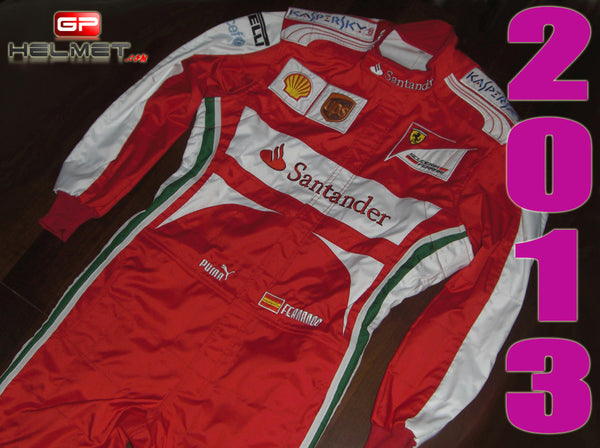 Fernando Alonso 2013 Racing Suit Replica / Ferrari F1