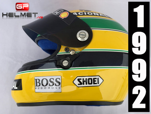 Ayrton Senna 1992 SHOEI Helmet / Team Mc Laren F1