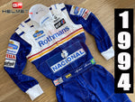 Ayrton Senna 1994 racing suit / Team Williams F1
