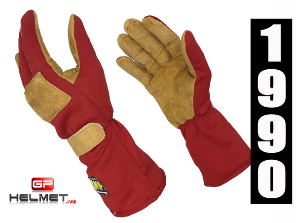 Ayrton Senna 1990 Replica Racing gloves / Mc Laren F1