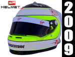 Rubens Barrichello 2009 Replica Helmet / Brawn F1