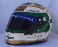 "Rubens Barrichello 2010 ""300 GP"" Replica Helmet / Brawn F1"