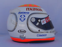 Rubens Barrichello 2009 INTERLAGOS GP Replica Helmet / Brawn F1