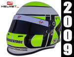 Jenson Button 2009 Replica Helmet / Brawn F1