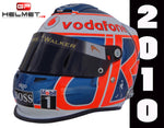 Jenson Button 2010 Replica Helmet / Mc Laren F1