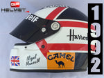 "Nigel Mansell 1992 ""ZEON"" Helmet / Williams F1"