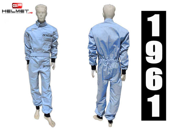 Phil Hill 1961 racing suit Replica / Ferrari F1
