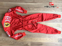 Charles Leclerc 2019 F1 Replica Helmet + Racing Suit + Gloves